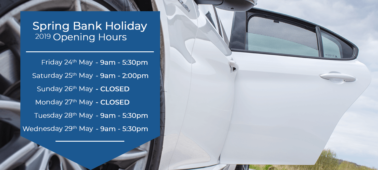 Spring Bank Holiday 2019 Opening Hours