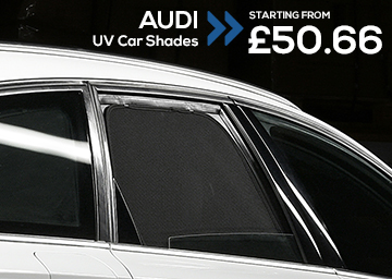 Audi uv car shades