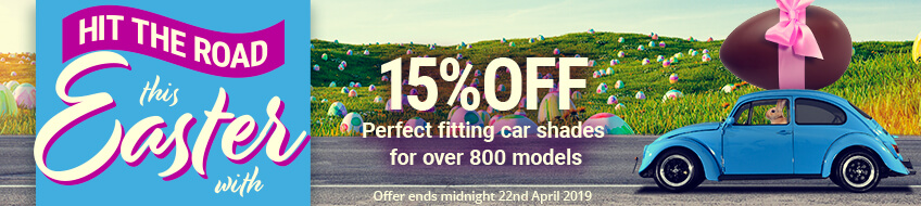 Hit The Road This Easter With 15% Off!