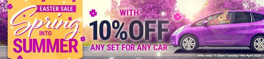 Spring Into Summer With 10% Off