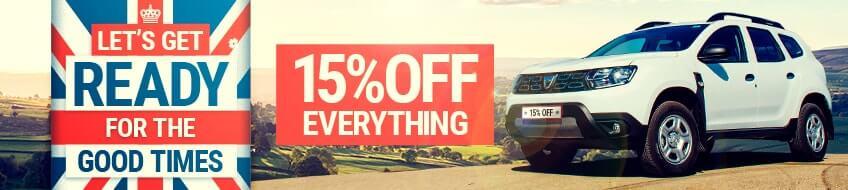15% Sale - Best of British