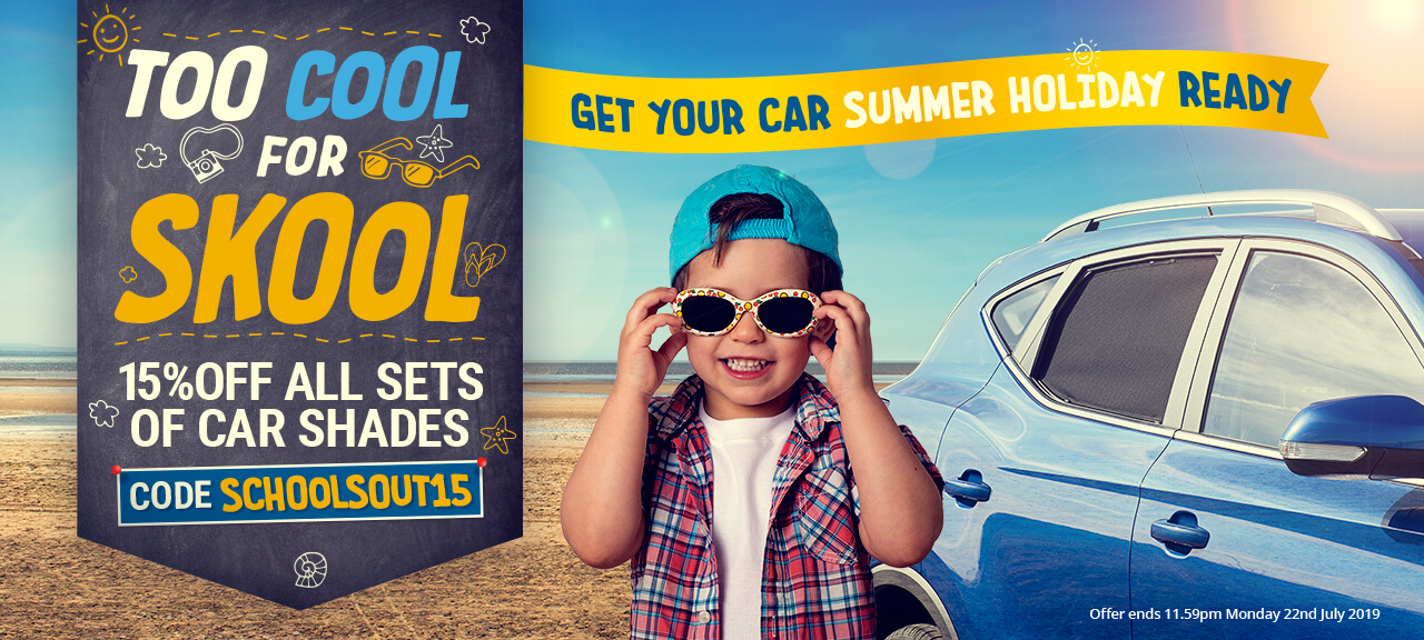 Too Cool For Skool! Get Your Car Summer Holiday Ready!