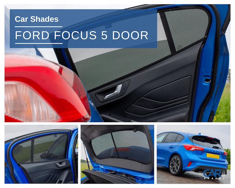 Ford Focus 2018 5 Door Full Set Car Shades