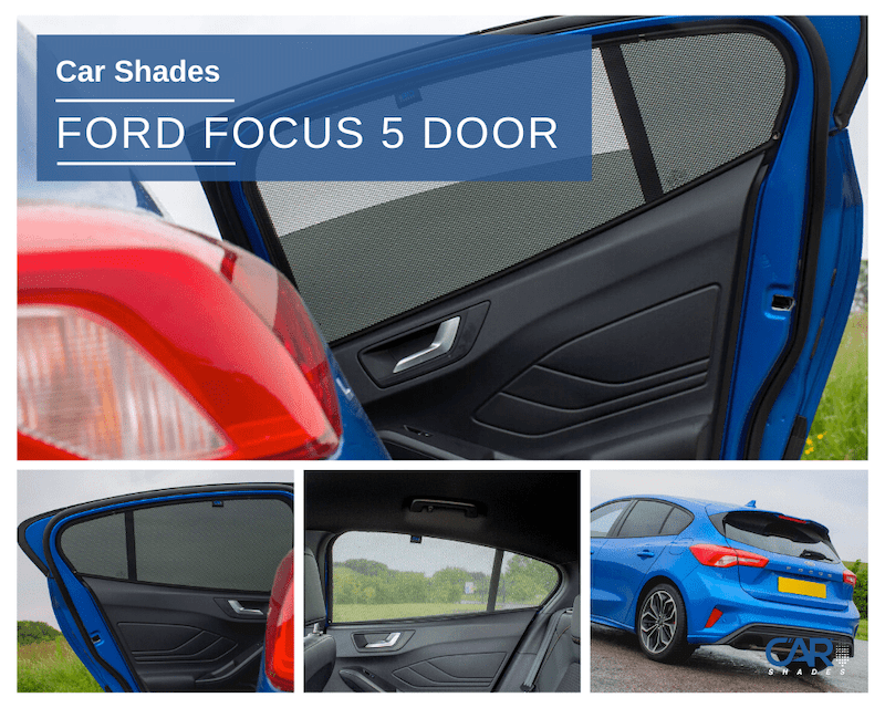 Ford Focus 2018 5 Door Rear Passenger Door Set Car Shades