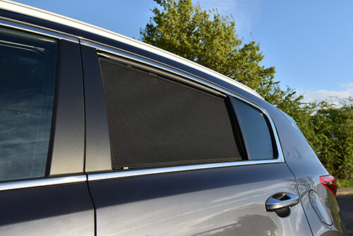 Car Shades Mercedes E Class 4dr 2016> Rear Door Set