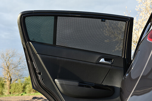 Car Shades Mercedes-Benz	SClass LWB W221 4Dr 06-13 Rear Door Set