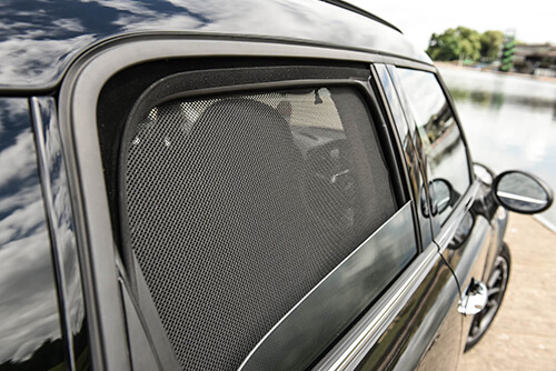 UV Car Shades - Ford Ranger D/C 07-11 Rear Door Set