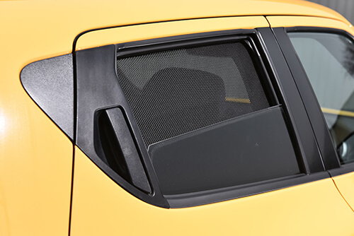 UV Car Shades - Mercedes C CLASS 4dr 07-13 W204 Rear Door Set