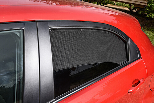 UV Car Shades - Mercedes C CLASS ESTATE 07-13 S204 Rear Door Set