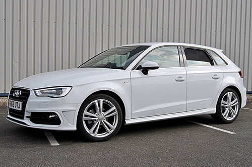 Car Shades Audi A3 Sportback (Typ 8V) 5 door 12> Full Rear Set