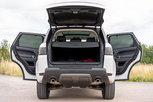 Car Shades Land Rover Range Rover Sport 5 door13> Full Rear Set