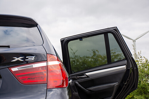Car Shades - BMW X3 F25 5dr 10-17 Rear Door Set