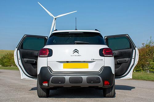 Car Shades - Citroen C3 Aircross 2017> -  Rear Door Set