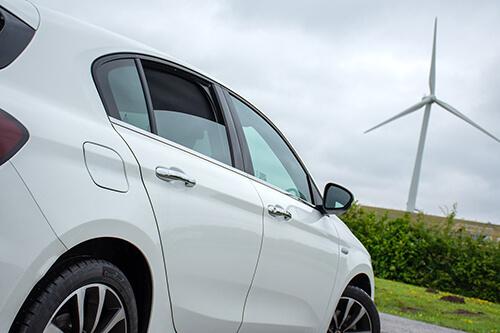 Car Shades Fiat Tipo 5dr 2015> - Rear Door Set