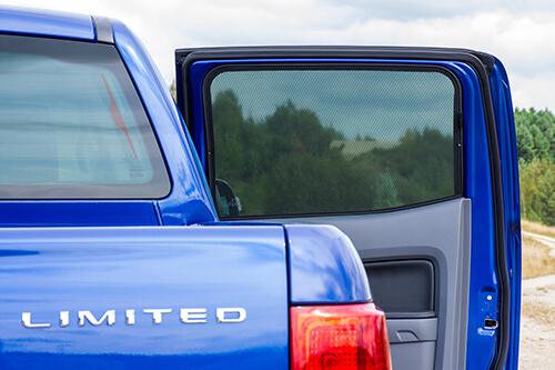 Car Shades Ford Ranger D/C T64 door 11> Full Rear Set