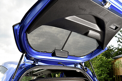 Car Shades Honda Jazz 5 door 08-14 Full Rear Set