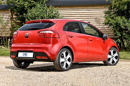 Car Shades Kia Rio 5dr 11-17 Full Rear Set