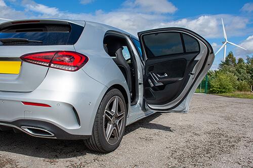 Car Shades Mercedes A-Class 5dr 2019> W177 Rear Door Set
