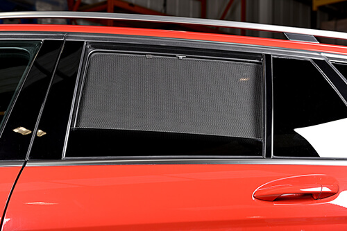 UV Car Shades - Mercedes C CLASS ESTATE 07-13 S204 Full Rear Set