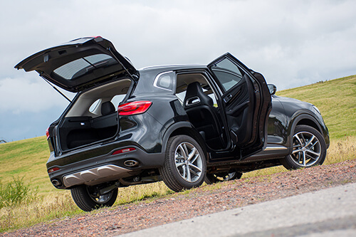 Car Shades MG HS 5 door 19> Full Rear Set