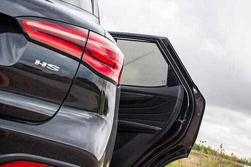 Car Shades MG HS 5dr 2019> Rear Door Set