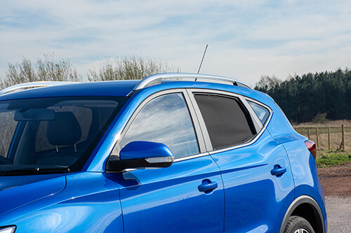 UV Car Shades - MG ZS SUV 2017> - Rear Door Set