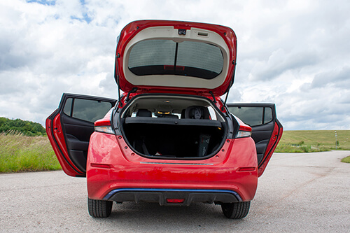 Car Shades Nissan Leaf 5 door 18> Full Rear Set