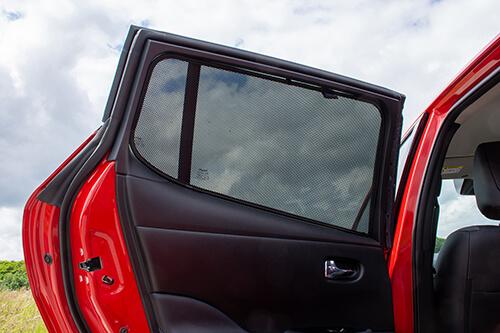 Car Shades Nissan Leaf 5dr 2018> Rear Door Set