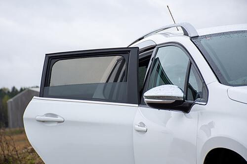 UV Privacy Car Shades - Peugeot 2008 5dr 13>19 Rear Door Set