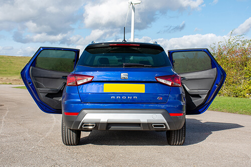 Car Shades - Seat Arona 2017> - Rear Door Set
