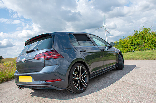 Car Shades Volkswagen Golf (MK 7) 5 door 13> Full Rear Set