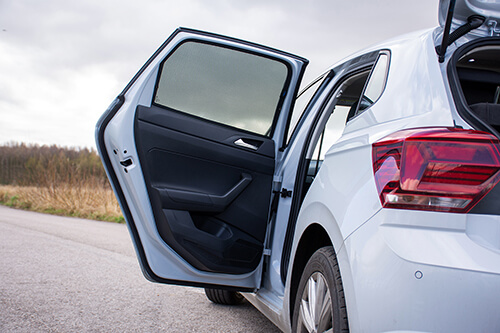 Car Shades VW Polo 2017> 5 Door - Rear Door Set