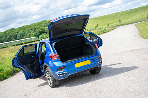 Car Shades Volkswagen T-Roc 5 door 17> Full Rear Set