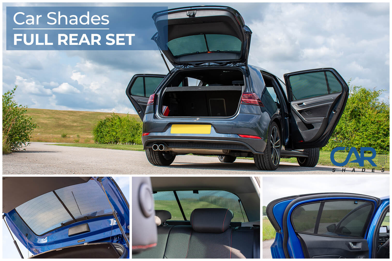 Car Shades - Full Rear Set