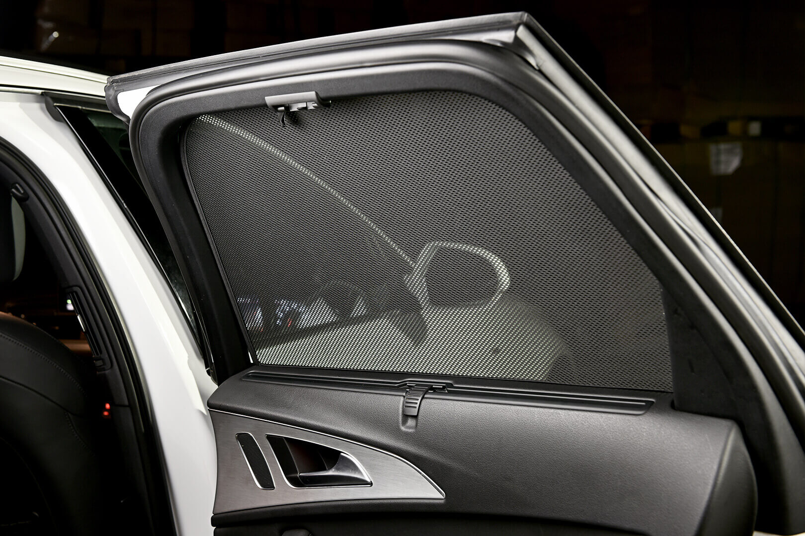 UV Privacy Car Shades Set of 6 Audi A6 Avant 11-18 - Vanstyle