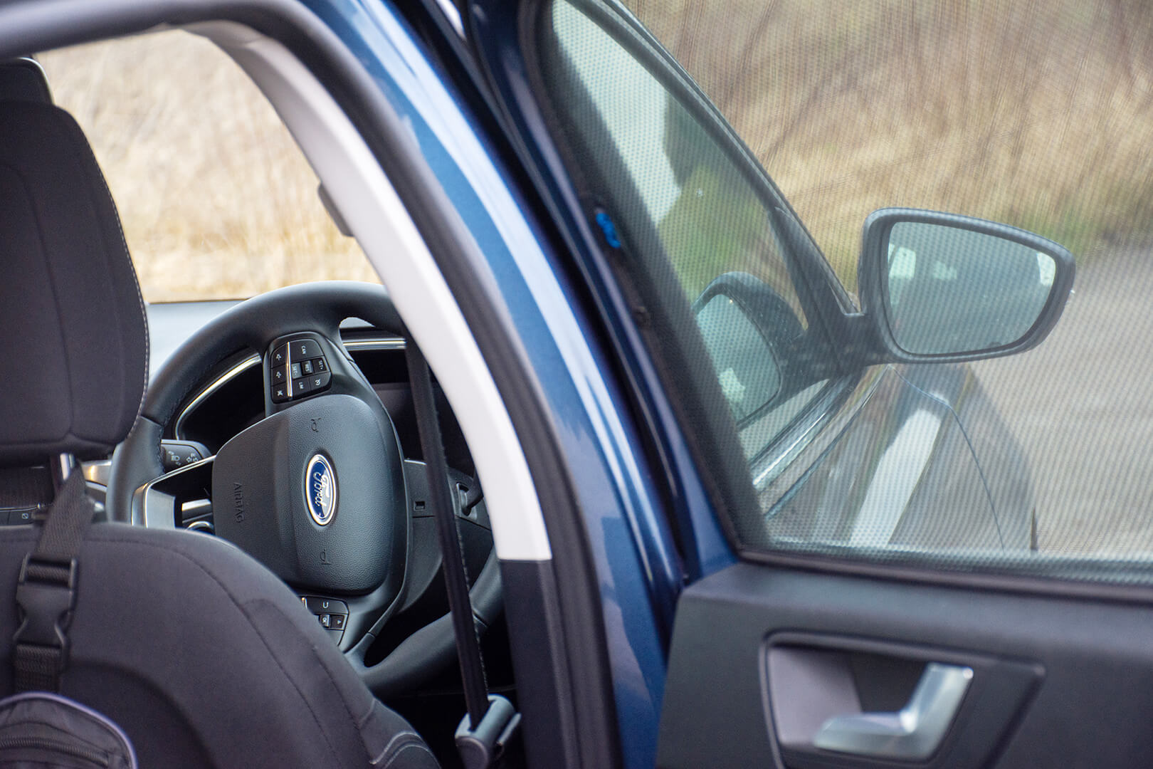 Car Shades Ford Focus Estate 2018> Rear Door Set
