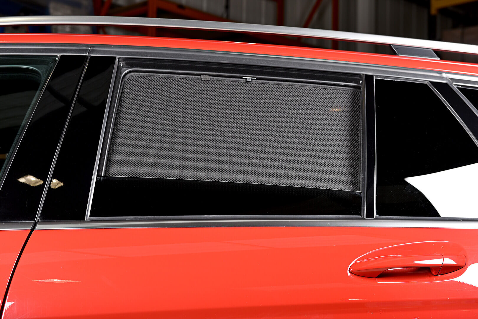UV Car Shades (Set of 8) Mercedes C CLASS ESTATE 07-13 S204
