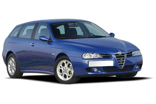 UV Privacy Car Shades (Set of 6) Alfa 156 SPORTWAGON 1997-06