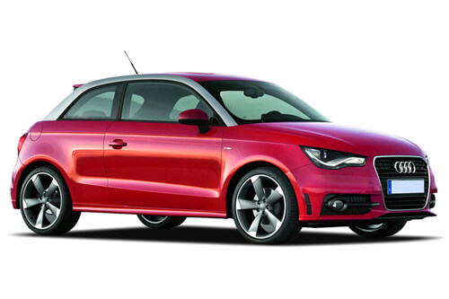 Car Shades Audi A1 (Typ 8X) 3 door 10> Full Rear Set