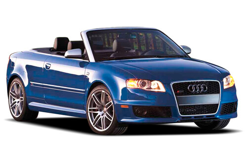 Car Shades Audi A4  (B6 & B7) Cabriolet 01-08 Full Rear Set