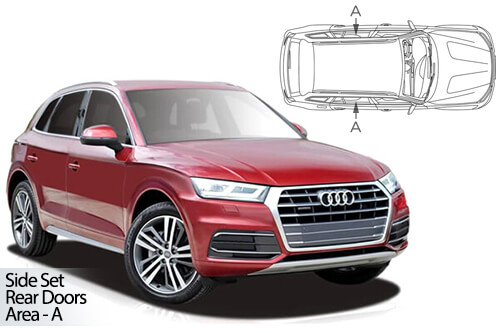 UV Car Shades - Audi Q5 2017> Rear Door Set