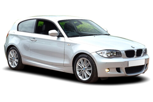 Set de Car Shades compatible avec BMW 1-Serie E81 3 portes 2004-2011