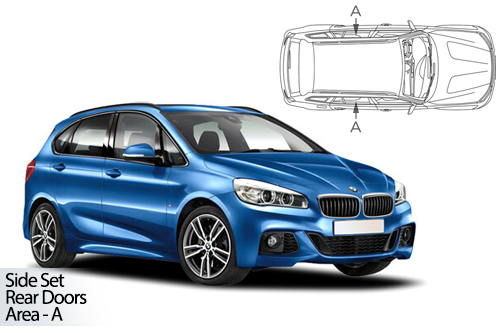 UV Car Shades - BMW 2 Series Active Tourer F45 14> Rear Door Set