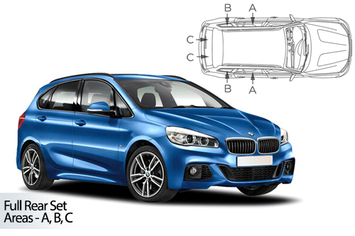 Car Shades BMW 2 Series Active Tourer 5door 14> Full Rear Set