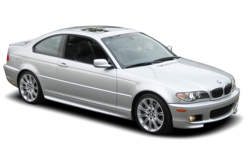 Car Shades BMW 3 Series ( E46 ) 2 door 98-05 Full Rear Set