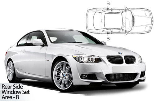 Car Shades BMW 3 Series (E92) 2 door - Rear Door Set