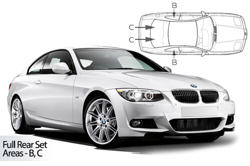 Car Shades BMW 3 Series ( E92 ) 2 door 05-12 Full Rear Set