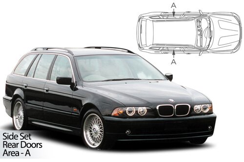 Car Shades BMW 5 Series (E39) Estate/Touring 95-03 Rear Door Set