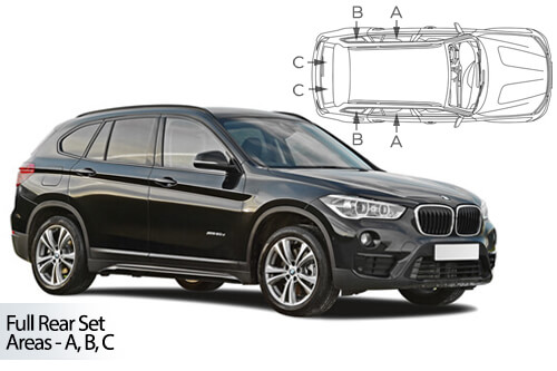 Car Shades BMW X1 F48 5 door 2015> Full Rear Set