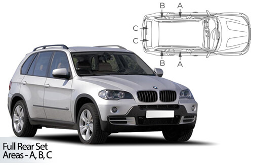 UV Privacy Car Shades (Set of 6) BMW X5 E70 5dr 07-13